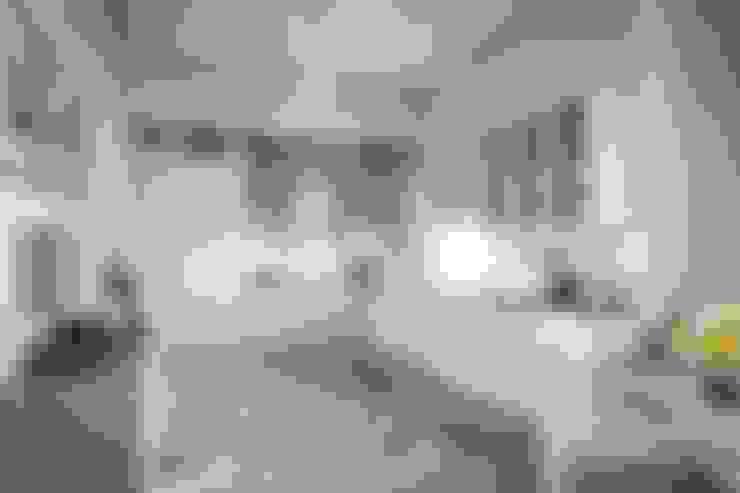 Дизайн дома в скандинавском стиле 160 м2 . Новосибирск: Кухни в . Автор – NK design studio