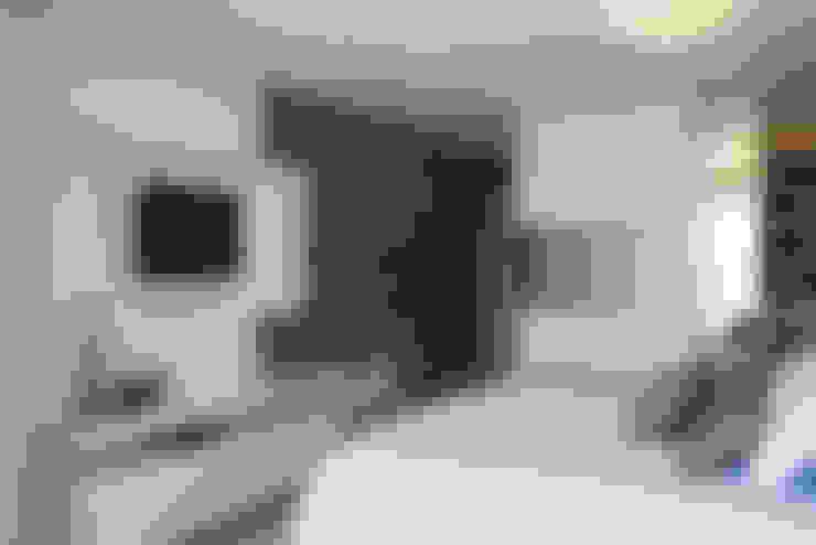 Residência: Quartos  por Andreia Benini Arquiteta