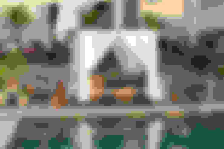 Piscina: Espaços comerciais  por Green House Moveis
