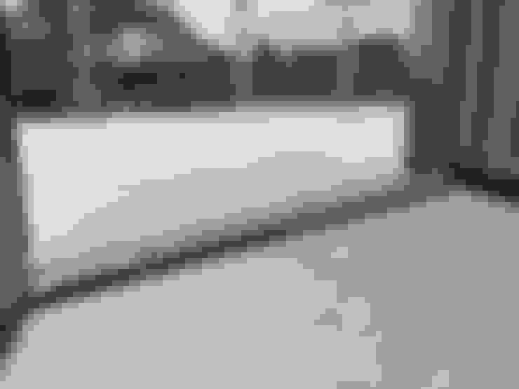 Fußbodenflächen einheitlich robust:  Terrasse von Mihm Thermohaus