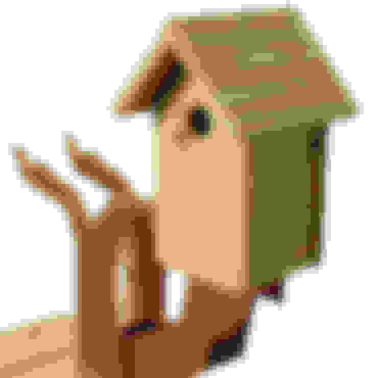 Vogelboomhut:  Tuin door Maandag meubels