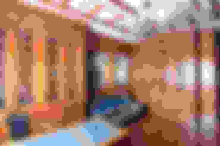 Коттедж в п. Шувакиш: Рабочие кабинеты в . Автор – Архитектурно-дизайнерская студия 'Арт Диалог'