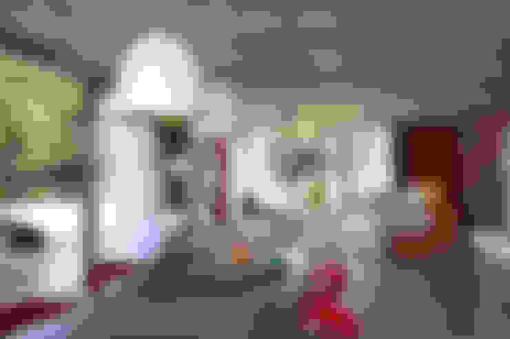 Casa Marítimo - Seferin Arquitetura: Salas de jantar  por Seferin Arquitetura