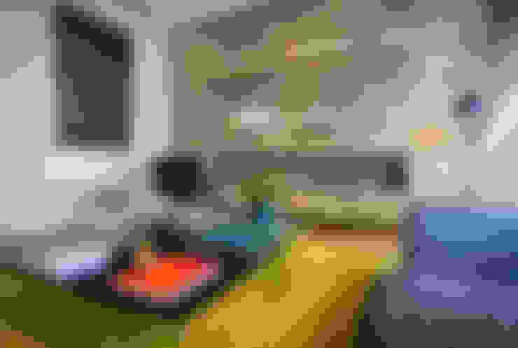 Salas/Recibidores de estilo  por Concepto Taller de Arquitectura