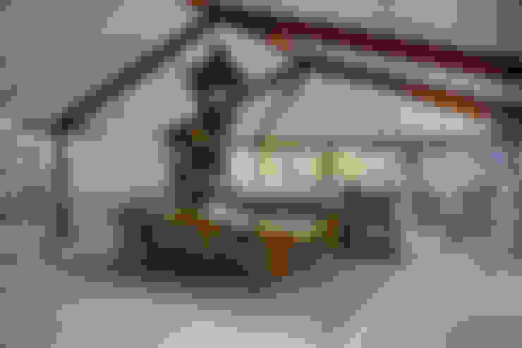 casa CR: Salas de jantar  por Raquel Junqueira Arquitetura
