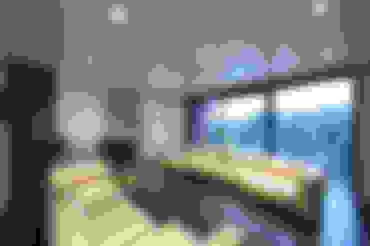 Projekty,  Salon zaprojektowane przez zone architekten
