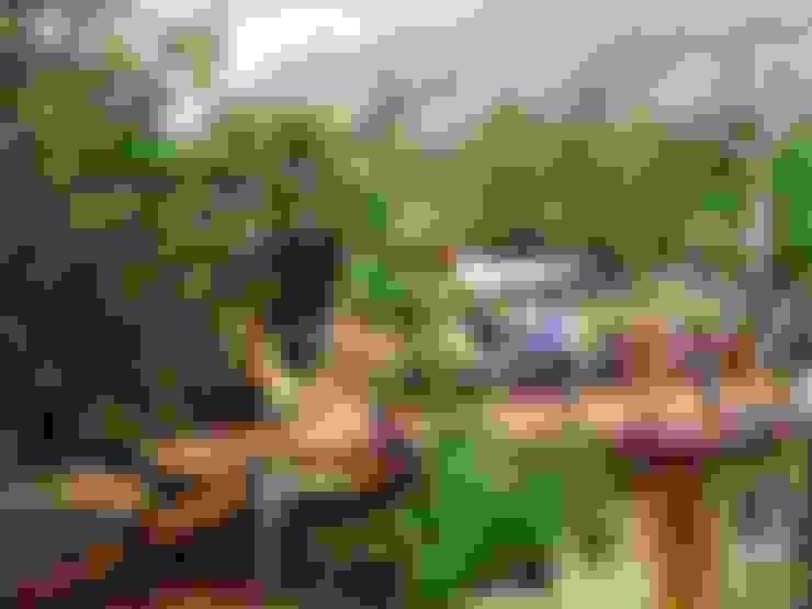 بلكونة أو شرفة تنفيذ badem ağacı