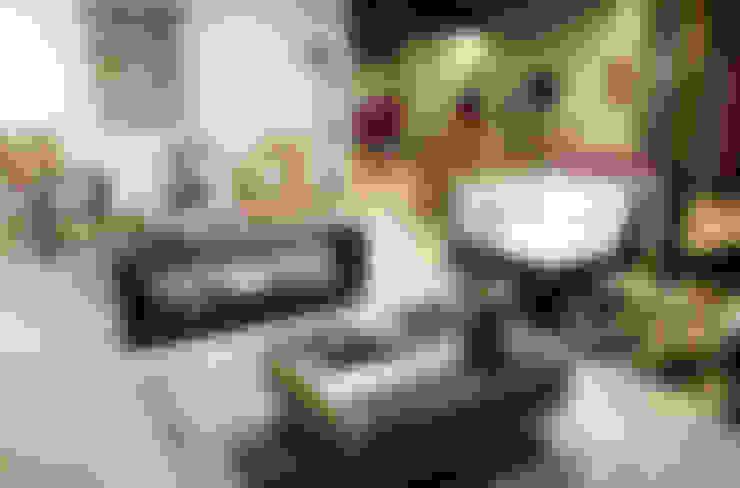 Sala de estar  por Mecate Studio