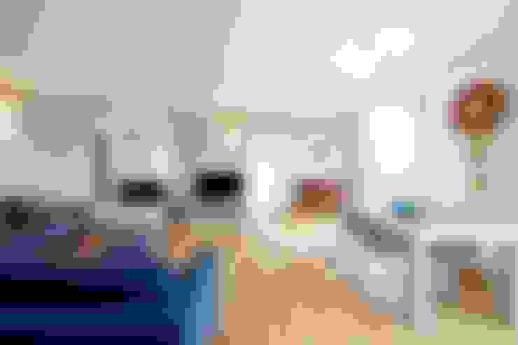 Гостиная в . Автор – Modularis Progettazione e Arredo