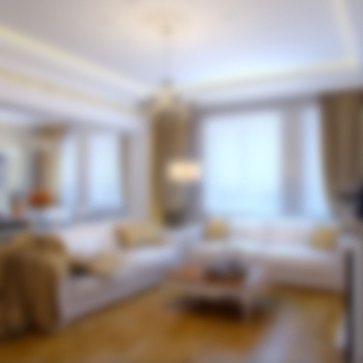 غرفة المعيشة تنفيذ Студия дизайна интерьера Маши Марченко
