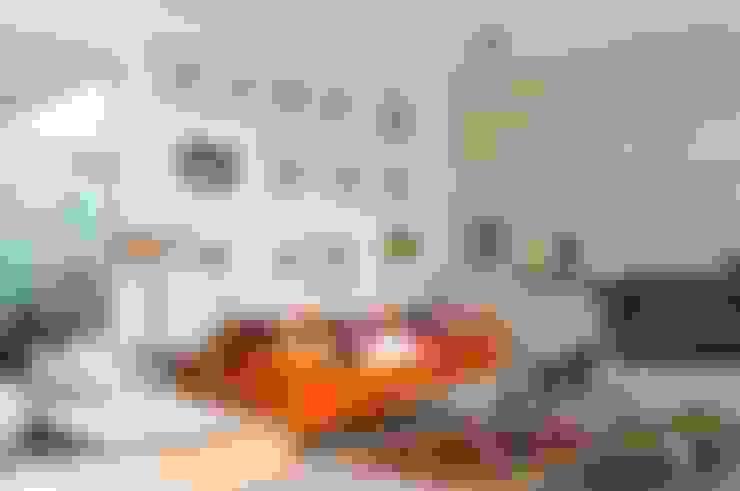 Гостиная в . Автор – Gantous Arquitectos