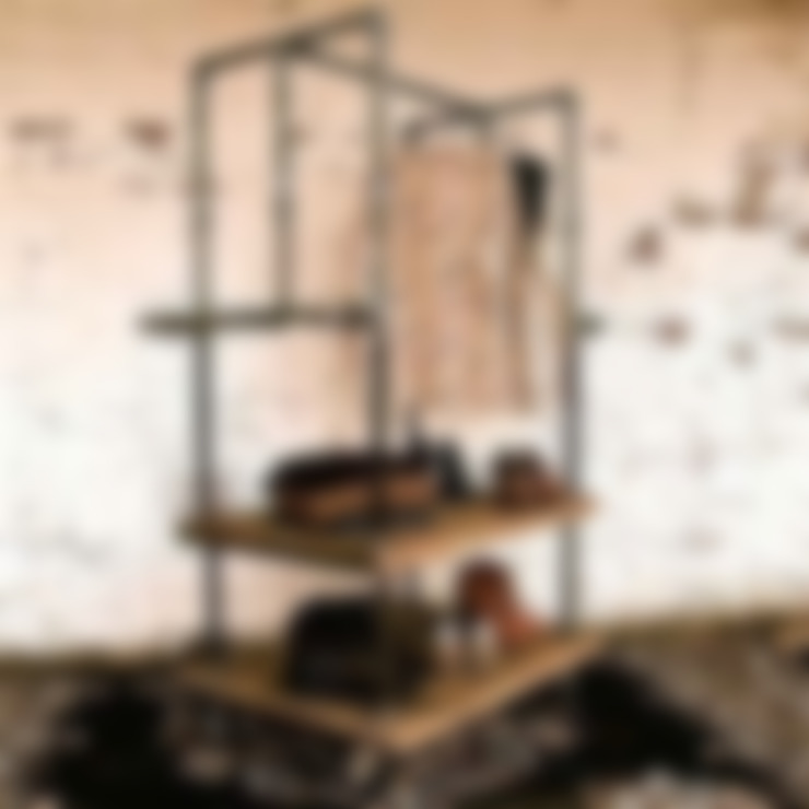Home Loft Studio:  tarz Koridor, Hol & Merdivenler