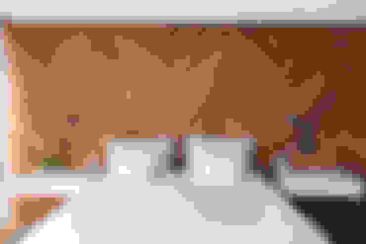 غرفة نوم تنفيذ Triplex Arquitetura
