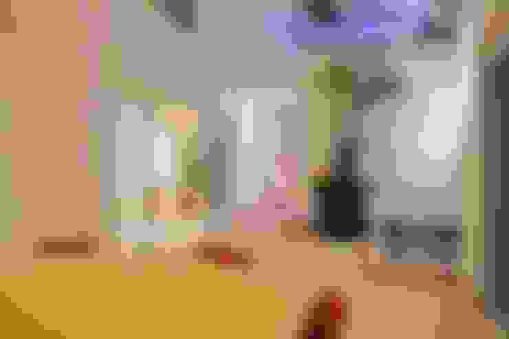 Casa - Praia de Tabatinga: Salas de jantar  por Hurban Liv Arquitetura & Interiores