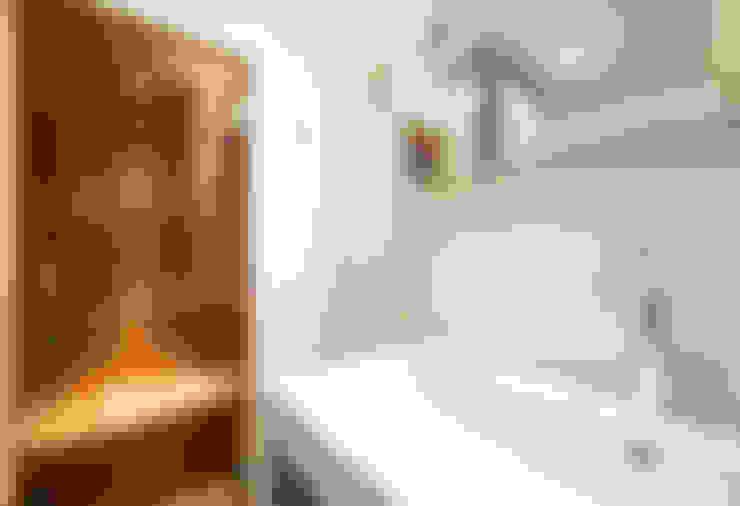 Prins Hendrikstraat:  Badkamer door De Werff Architectuur