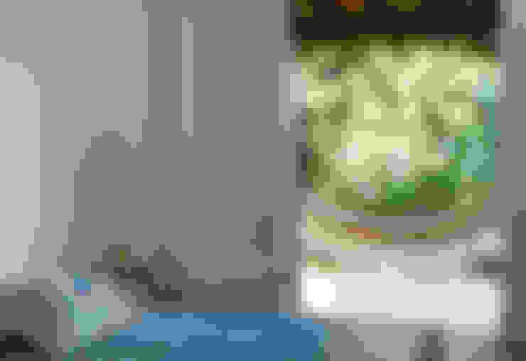 Casa de praia - Guaecá SP: Quartos  por Lucia Manzano