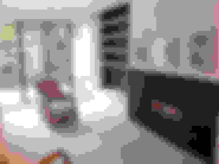 غرفة المعيشة تنفيذ Gullaksen Architects