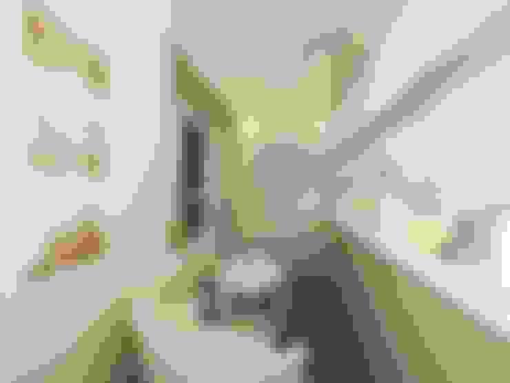 Неоклассика: визуализация, частичный дизайн : Tерраса в . Автор – OK Interior Design