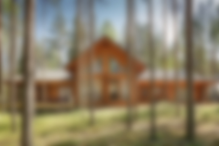 Houten huis door Ольга Кулекина - New Interior