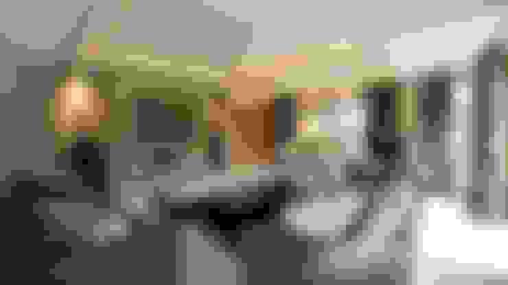 Projekty,  Salon zaprojektowane przez Wildblood Macdonald