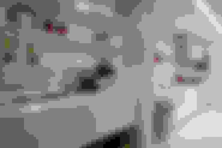Apartamento Jacob : Cozinhas  por Estúdio Kza Arquitetura e Interiores