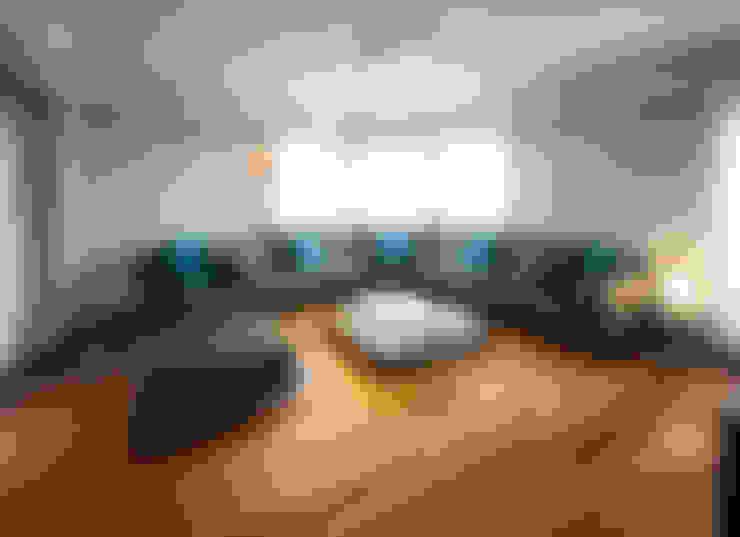 Гостиная в . Автор – Estudio Sespede Arquitectos