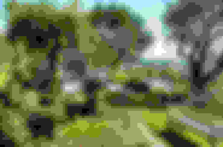 salotto green : Giardino in stile  di Fiorenzobellina-lab