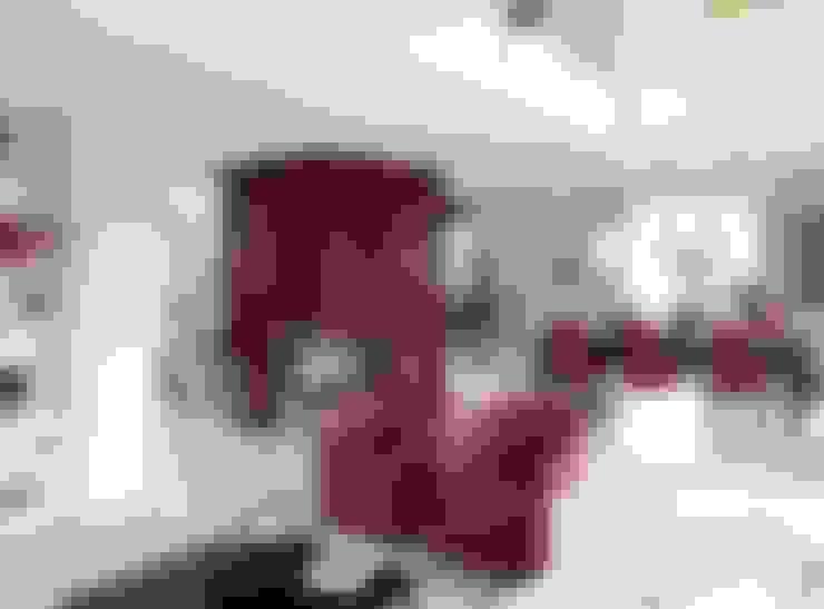 Living room by Haacke Haus GmbH Co. KG