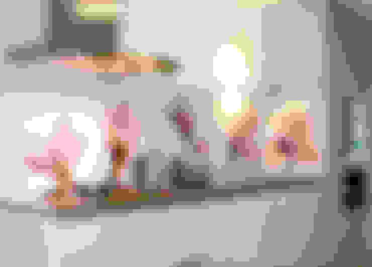 """Keuken achterwand """"Magnolia"""" op Pimp Superior materiaal:  Keuken door PimpYourKitchen"""