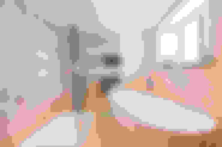 Ванные комнаты в . Автор – SDA Architecture Ltd