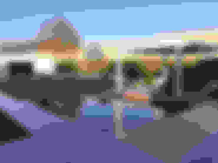 Loungetuinen:  Tuin door Tuinarchitectengroep ECO