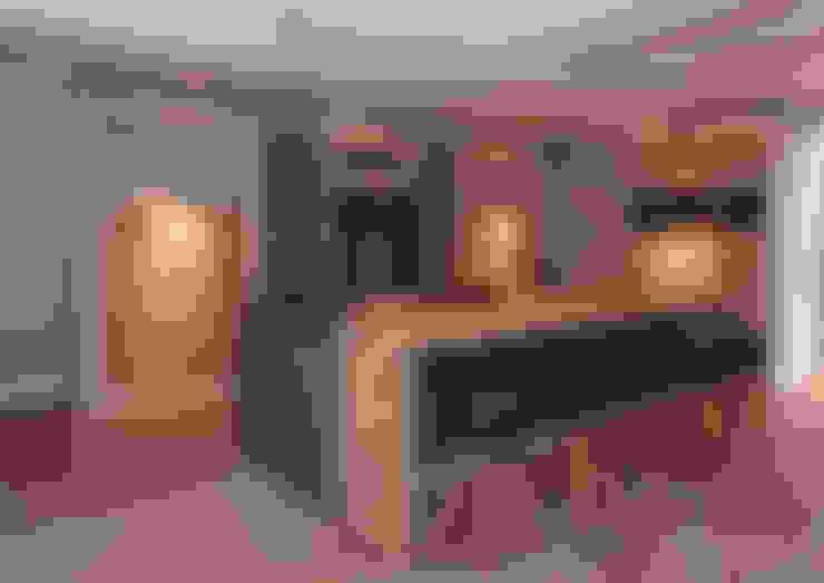 Cocinas de estilo  por Thijs van de Wouw keuken- en interieurbouw