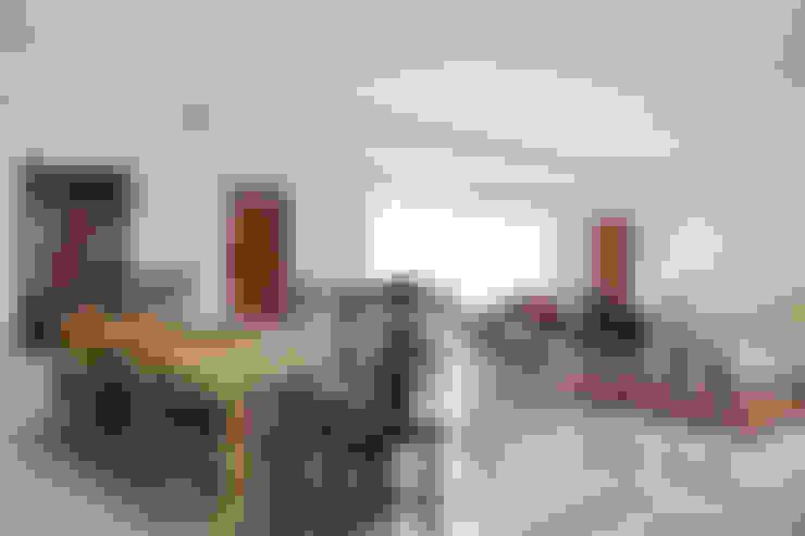 Casa na Gávea: Salas de jantar  por Ricardo Melo e Rodrigo Passos Arquitetura