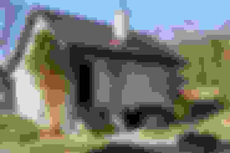 Casas de estilo  por Grzegorz Popiołek Projektowanie Wnętrz
