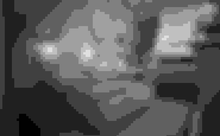 Дизайн-бюро Анны Шаркуновой 'East-West'が手掛けた寝室