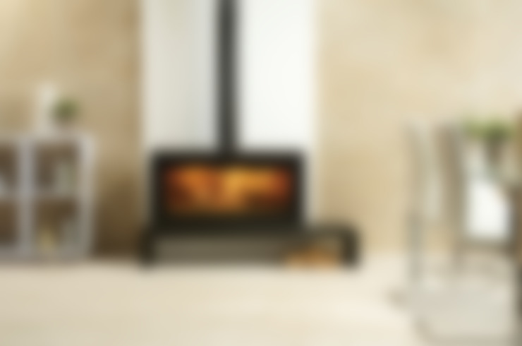 Living room تنفيذ Stovax Heating Group