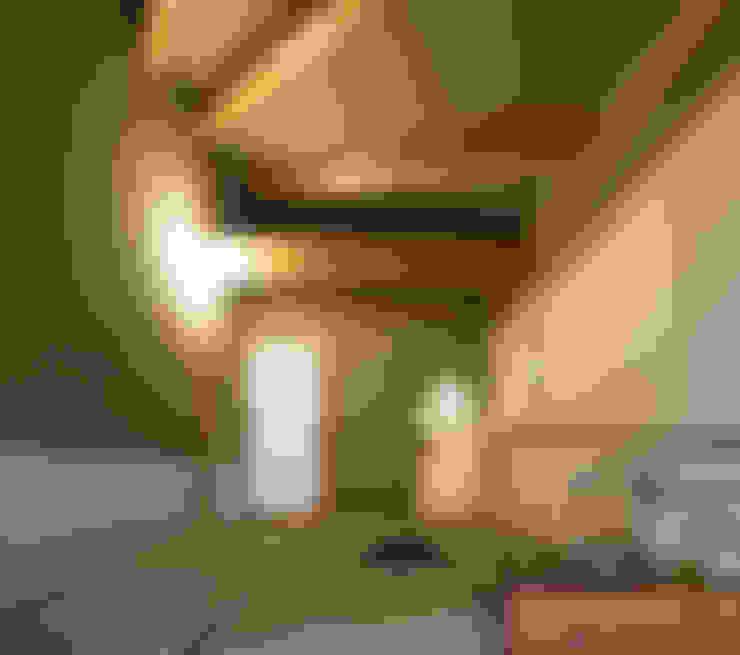 視聽室 by 建築設計事務所 山田屋