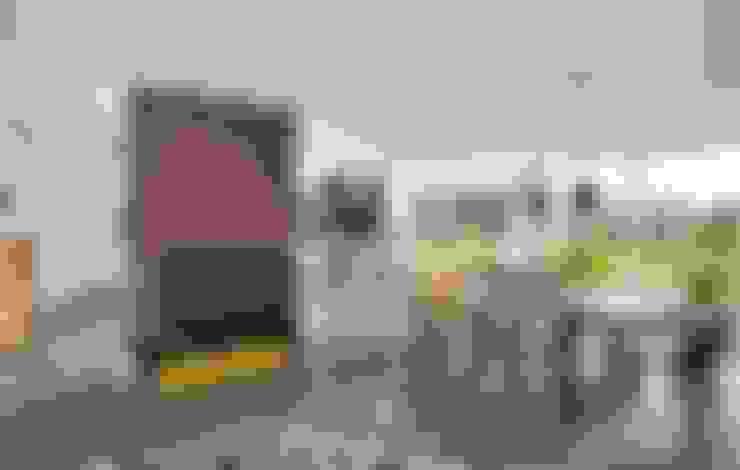 Projekty,  Jadalnia zaprojektowane przez Heinz von Heiden GmbH Massivhäuser
