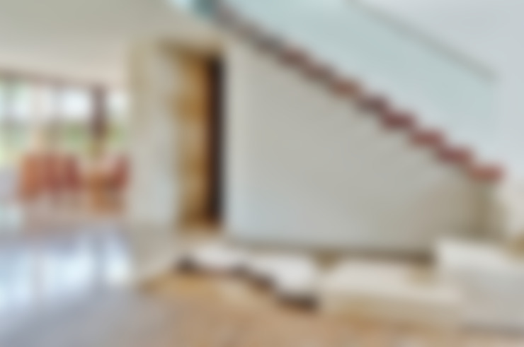 Corridor and hallway by Ancona + Ancona Arquitectos