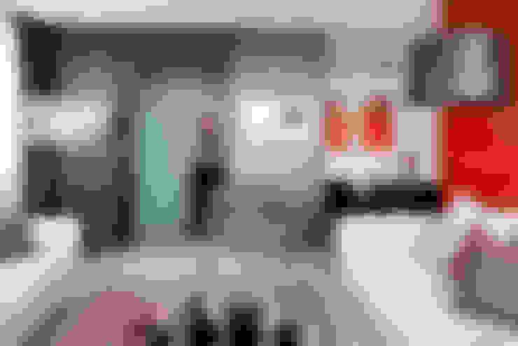 Corridor, hallway & stairs by PDV studio di progettazione