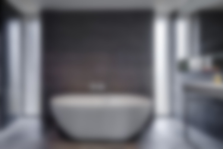 Banheiros  por Hall + Bednarczyk Architects