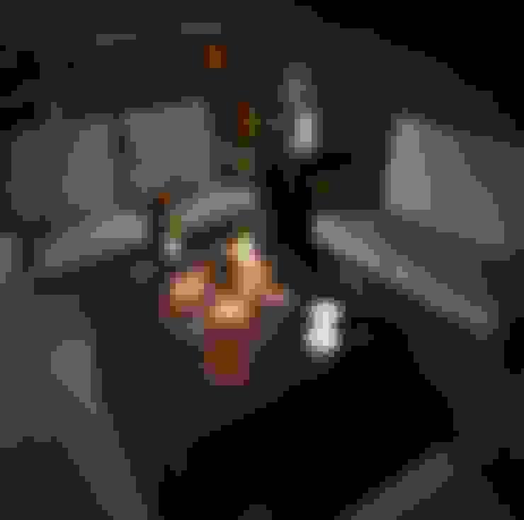 Palenisko ogrodowe Happy Cocooning: styl , w kategorii Balkon, weranda i taras zaprojektowany przez Happy Cocooning Poland