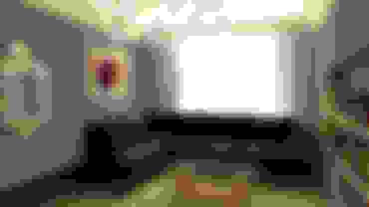 Дизайн интерьера квартиры в стиле «арт-деко»: Гостиная в . Автор – DEMARKA