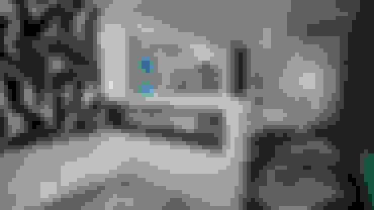 Морской поп-арт . Однокомнатная квартира.: Гостиная в . Автор – дизайн-бюро ARTTUNDRA