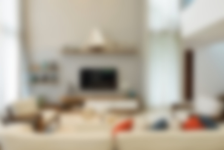 Sala de estar: Salas de estar  por Pinheiro Martinez Arquitetura
