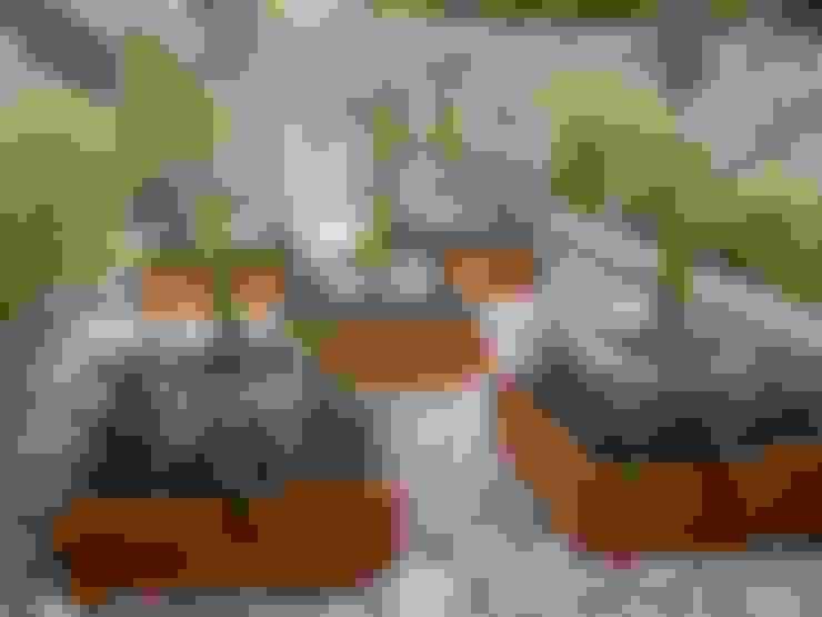 terraza: Jardines de estilo  por BAIRES GREEN MUEBLES