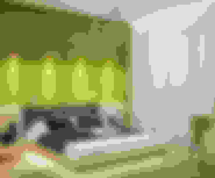 Recámaras de estilo  por Студия дизайна Interior Design IDEAS