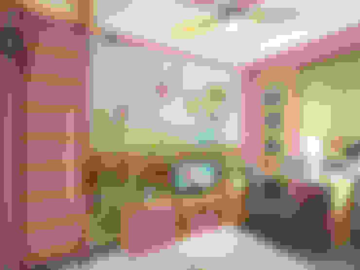 غرفة الاطفال تنفيذ ПРОЕКТНАЯ СТУДИЯ Ирины Щуровой ДОМ