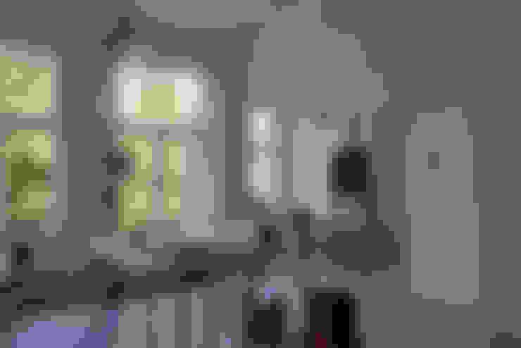GLAZEN UITBOUW DUINWEG_05:  Studeerkamer/kantoor door HOYT architecten