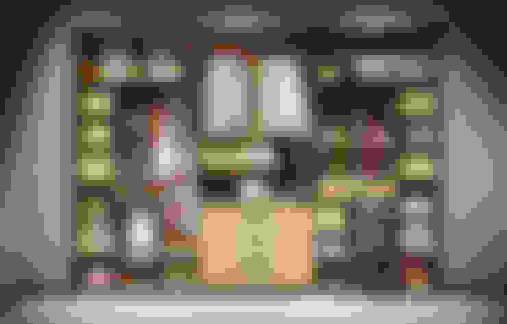 AstiDkora:  tarz Giyinme Odası